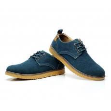 新款男式反绒休闲鞋