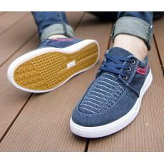 水洗低帮学生男帆布鞋 休闲时尚潮流