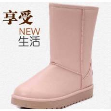 防水防滑保暖女生雪地靴棉靴