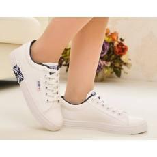 2014新款清新韩版潮舒适白球鞋女单鞋