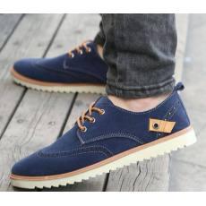 男士休闲鞋板鞋布洛克韩版英伦男鞋836厂家批发