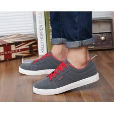 齐发娱乐_春夏季时尚韩版磨砂鞋男士板鞋英伦休闲鞋