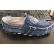 时尚男鞋男士帆布鞋韩版男鞋休闲鞋 一脚蹬人头图案