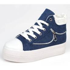 2014女士新款帆布鞋 休闲 时尚H1309