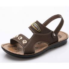 qile600_2014新款男凉鞋沙滩鞋