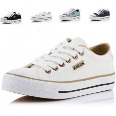 供应春夏新款女鞋 正品帆布鞋