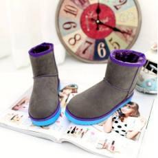 14秋拼色短靴热卖保暖女靴