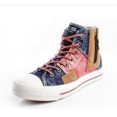 FCS新款正品女鞋帆布鞋