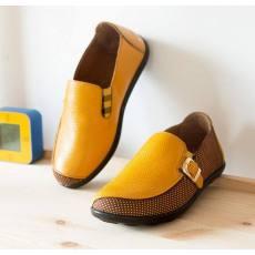 2014秋款真皮男童鞋