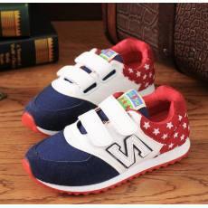 2014新款韩版童鞋运动鞋男童女童帆布鞋