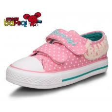 巴米奇 女童帆布鞋