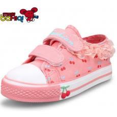 巴米奇儿童帆布鞋女童鞋