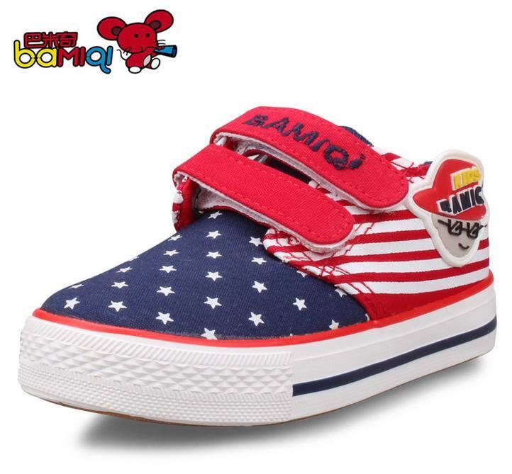 巴米奇童鞋 儿童帆布鞋