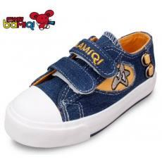 巴米奇儿童帆布鞋2014秋新款女童鞋