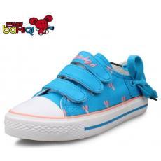 巴米奇童鞋 2014新款儿童帆布鞋女童帆布鞋
