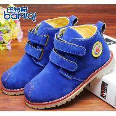 巴米奇2014新款秋款单靴儿童马丁靴