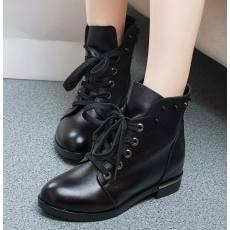 欧洲站秋冬新款马丁靴