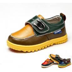 男童鞋2014新款宝宝婴儿学步鞋牛筋软底小童皮鞋