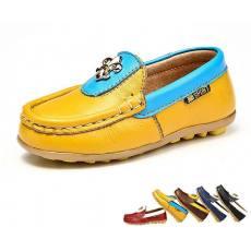 儿童豆豆鞋韩版真皮 新款学步鞋厂家批发
