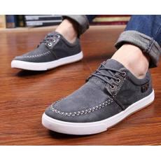 帆布鞋水洗漂染男士板鞋韩版休闲鞋批发瑞安布鞋