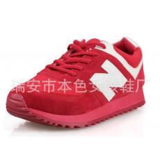 韩国N字母鞋单鞋春季新款女鞋运动休闲鞋女