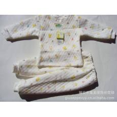 心欣宝 儿童婴儿保暖内衣宝宝肩扣内衣纯棉套装秋冬款大款批发