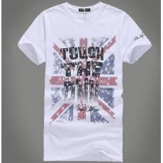 男式时尚纯棉印花短袖t恤 外贸品牌男式t恤