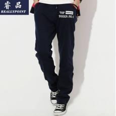 薄款男士休闲裤长裤 品牌男士运动裤 男式休闲裤