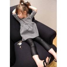多可爱2014秋款 童装 洋气小格子娃娃裙一mika