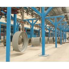 工程车轮毂涂装生产线