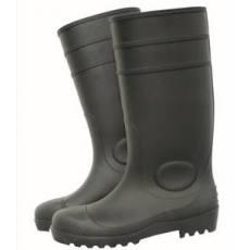 塑胶防砸防刺工矿雨鞋 钢头超强防护雨靴