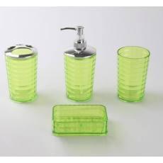 厂家供应 压克力卫浴四件套 浴室套件 塑料套装 双层卫浴套件