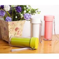 四叶草环保随身杯,时尚外观,还可以随心DIY