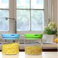 600ML耐高温多硼硅玻璃储物罐,质地清透