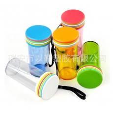 炫彩杯 创意随手杯 个性旅行杯 塑料广告杯礼品杯