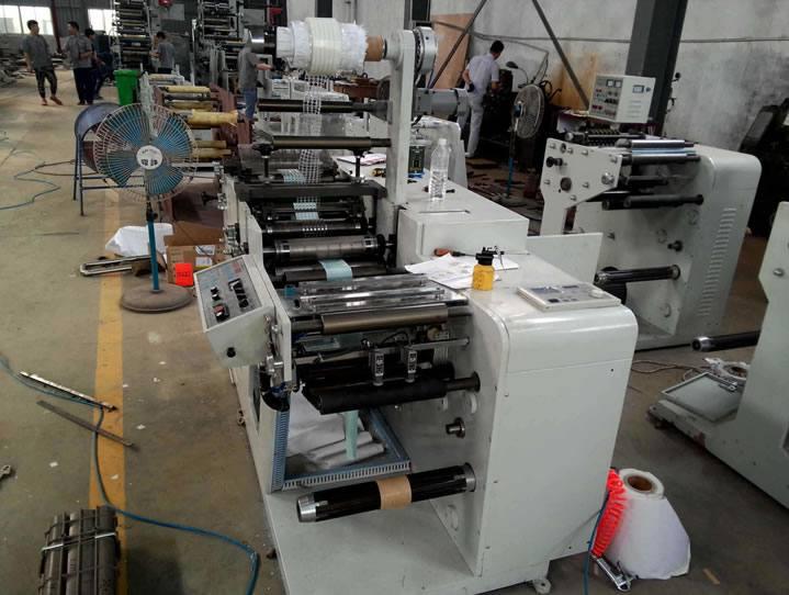 双工位圆刀模切 双收轴 分切机
