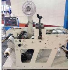 圆压圆不干胶模切机 带分切 双收轴 磁粉控制 速度快