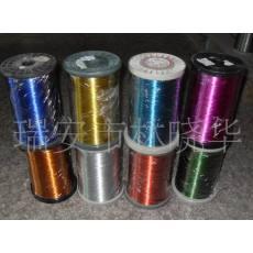 厂家直销优质工艺品用彩色铁丝烤漆铁丝 金银丝木棒丝麻丝镀锌