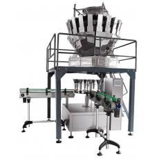 给袋式包装机酱菜固体液体粉剂欧式大规格全自动计量包装机
