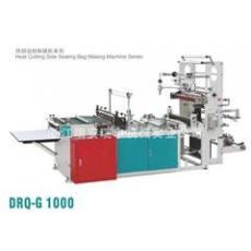 瑞申机械供应微电脑控制 多功能高架热切边封制袋机 DRQ-G1000(PE筒料专用)
