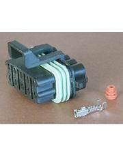 DJ7101Y-1.5-21塑料10孔接插件护套