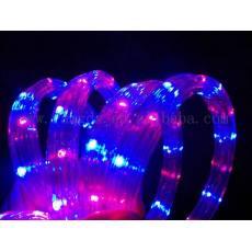 qile600_MG-F3W16 LED扁三线彩虹管