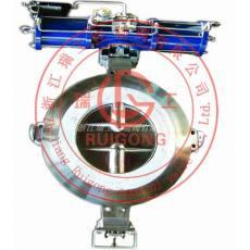 ZKJWa-0.1G、ZKJWb-0.1G电动衬水泥高温蝶阀