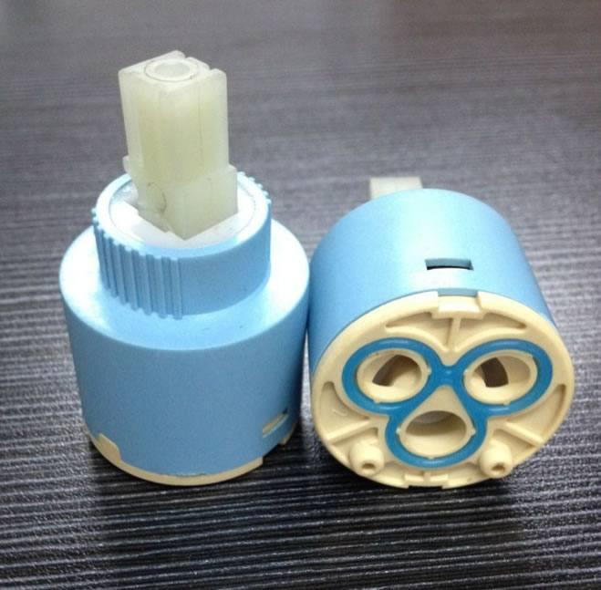 专业批发T35 平脚双密封精密陶瓷阀芯塑料阀芯,优质阀芯