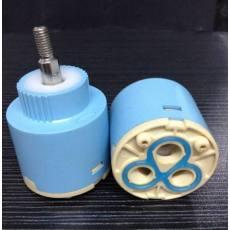 专业批发T35平脚铜杆精密陶瓷阀芯(360度)塑料阀芯,优质阀芯