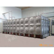 100吨组合式生活及消防水箱