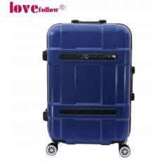 高端铝框拉杆箱万向轮pc旅行箱abs行李箱超大静音飞机轮登机箱