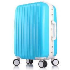 拉杆箱万向轮pc铝框旅行箱行李箱男女密码登机箱包20寸24托运箱子