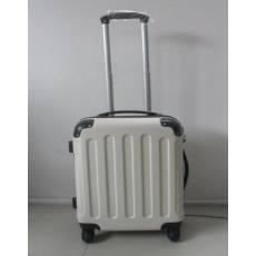 爱相随 黑白配ABS行李箱拉杆箱登机箱旅行万向轮