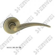 铜把手AS-26 AB 铜分体把手 铜执手 铜把手 铜拉手